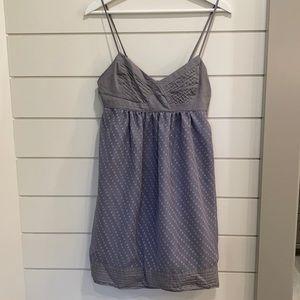 Silver / Grey Babydoll Dress
